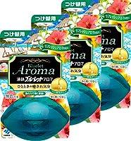 【まとめ買い】液体ブルーレットおくだけアロマ トイレタンク芳香洗浄剤 詰め替え用 リフレッシュアロマの香り 70ml×3個