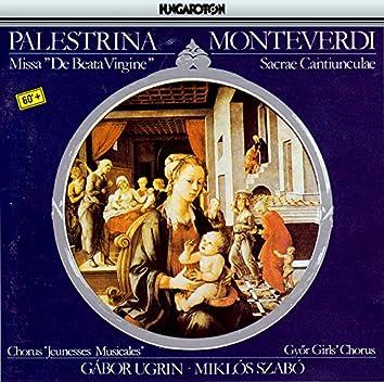 Palestrina: Missa De Beata Virgine / Monteverdi: Sacrae Cantiunculae