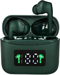 Holiper J5+ Trådlösa öronsnäckor Hörlurar Bluetooth 5.2 Hörlurar i örat, Klar Stereo Ljud Djup Bas IPX7 Vattentäta öronkno...