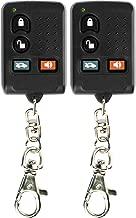 KeylessOption Keyless Entry Remote Car Key Fob Aftermarket Alarm for Code Alarm GOH-M24 Ford Subaru VW Mitsubishi (Pack of 2)