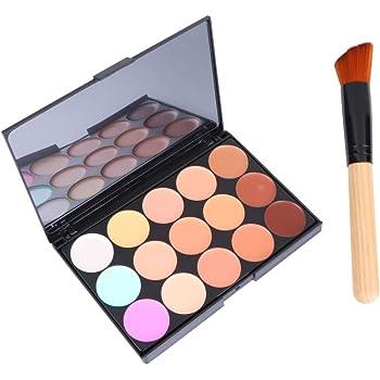 LEORX Face Contour Kit marcador maquillaje Kit 15 paleta crema ...