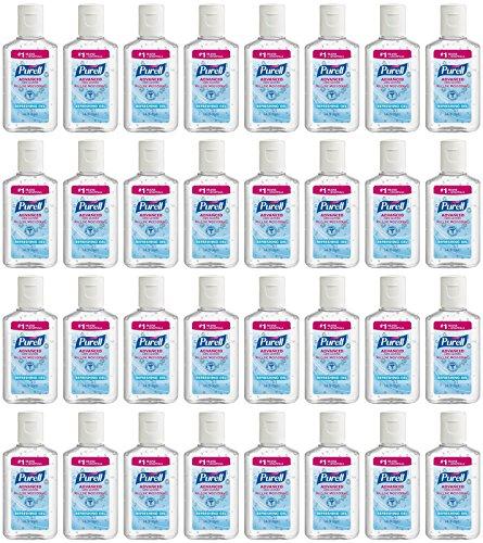 Purell Advanced Hand Sanitizer Refreshing Gel, 1 Fl Oz (24-Pack)