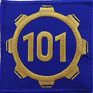 Vault 101 Fallout Style Patch Cosplay Hook and Loop 3