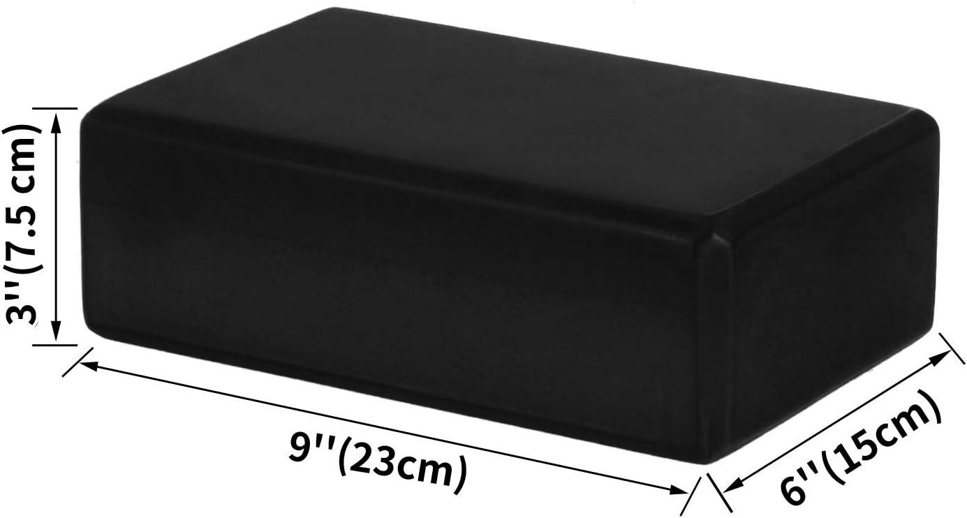 Pilates CISMARK Yoga Block Meditation Supportive Latex-Free EVA Foam Soft Non-Slip Surface for Yoga