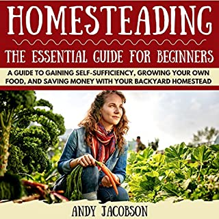 Homesteading audiobook cover art