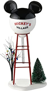 Department 56 Disney Village Mickey Water Tower Accessory Figurine, 11.875 inch