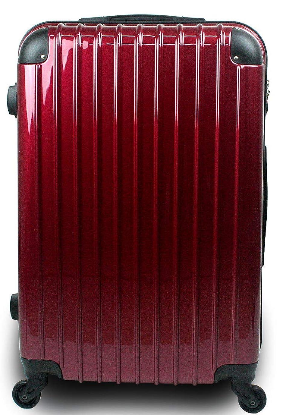 毒液部分的一族スーツケース キャリーバッグ 3サイズ(大型 Lサイズ/中型 Mサイズ/小型 Sサイズ)TSA搭載 コスモ3000PC 超軽量 ファスナーモデル