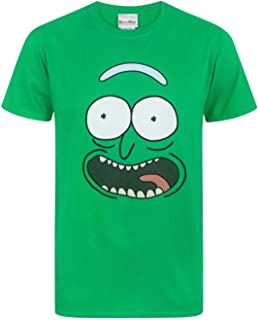 Pickle Rick Face Men's T-Shirt