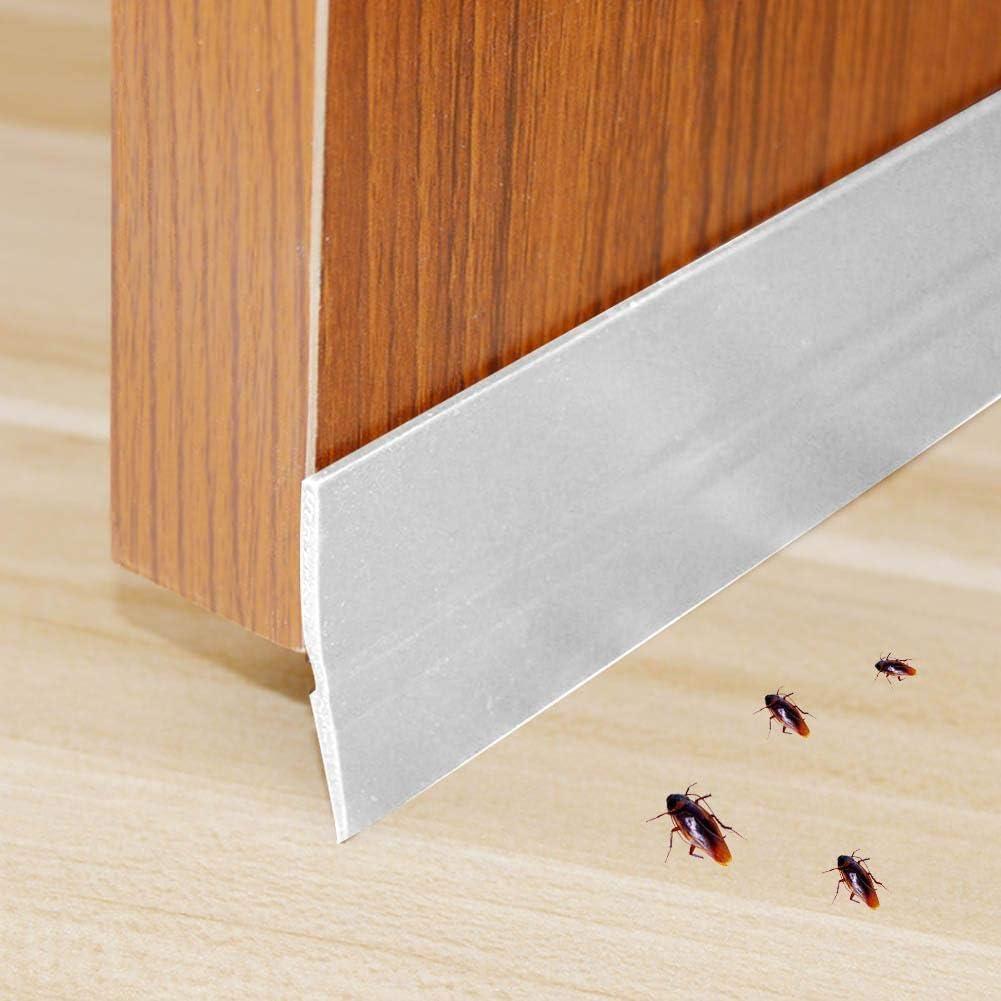 5M 45mm Cinta de sellado autoadhesiva Draft Weather Excluder Puerta Ventana Viento Insecto Prevenci/ón de polvo Cinta de sellado Rollo para ba/ño de cocina 01