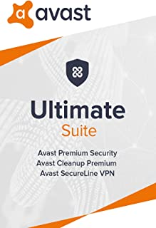 Avast Ultimate 2020 | Antivirus+Cleaner+VPN | 1 PC, 2 Years [Download]