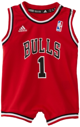 NBA Infant Chicago Bulls Derrick Rose Away Onesie Jersey - R22Usbb5 (Red, 18 Months)