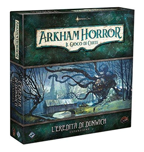 Asmodee Arkham Horror LCG - Ciclo 1-1 - L'Eredità di Dunwich - Board Game in Italian