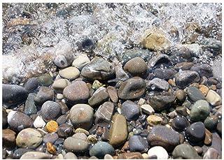 Babysbreath17 Río Piedra Etiqueta de la Pared 3D del adoqu