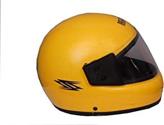 GTB HELMET FULL FACE HELMET ISI MARK-YELLOW