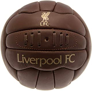 Liverpool FC Official Retro Heritage Ball (Size 5) (Brown)