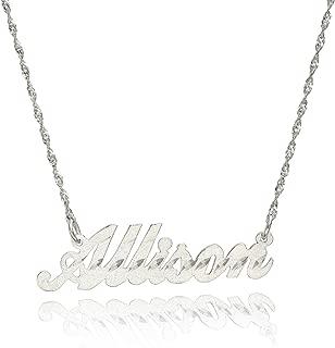 Best 18 karat gold name necklace Reviews