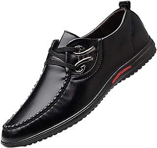 Zzzz Chaussure Homme Ville Durable DéContractéE Mode Confortable RandonnéE Loisirs Travail Chaussures en Cuir pour Hommes ...
