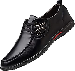 Mens Soft Dress Shoes,Realdo Men's Fashion Casual Business Leather Lined Shoes Lace Up Driving Shoes
