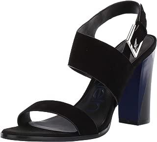 Calvin Klein Carina Kid Suede Heel Women's Fashion Heel (Women)