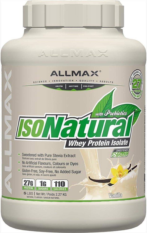 AllMax IsoNatural Natural WPI - Vanilla - 2.27kg 2.27kg