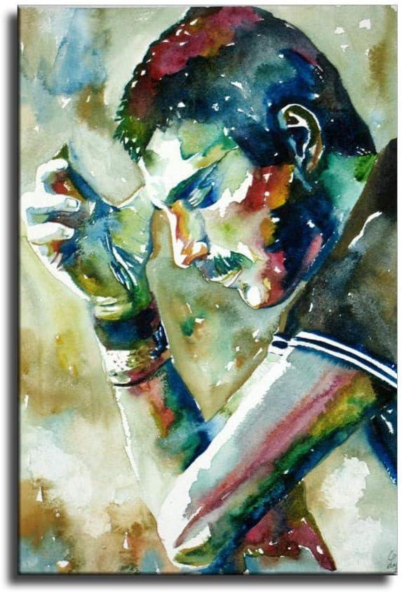 SDFFA Freddie Mercury Canvas shop Art Poster and Pri Max 58% OFF Wall Picture
