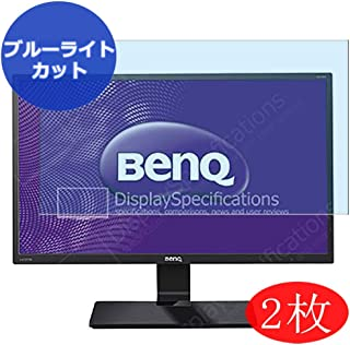 VacFun 2 Piezas Filtro Luz Azul Protector de Pantalla Compatible con BenQ GW2470 / GW2470HM 23.8