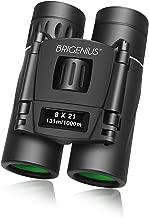 BRIGENIUS 8×21 Compact Binoculars for Concert Theater Opera, Small Lightweight Mini..