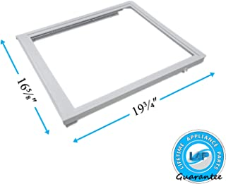 Lifetime Appliance 240350702 Upper Crisper Pan Cover Compatible with Frigidaire Refrigerator