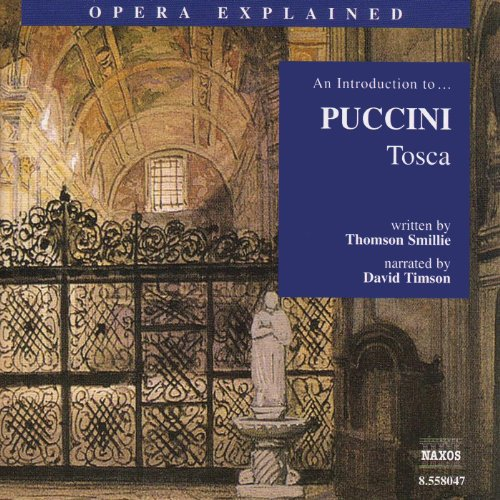 Tosca audiobook cover art