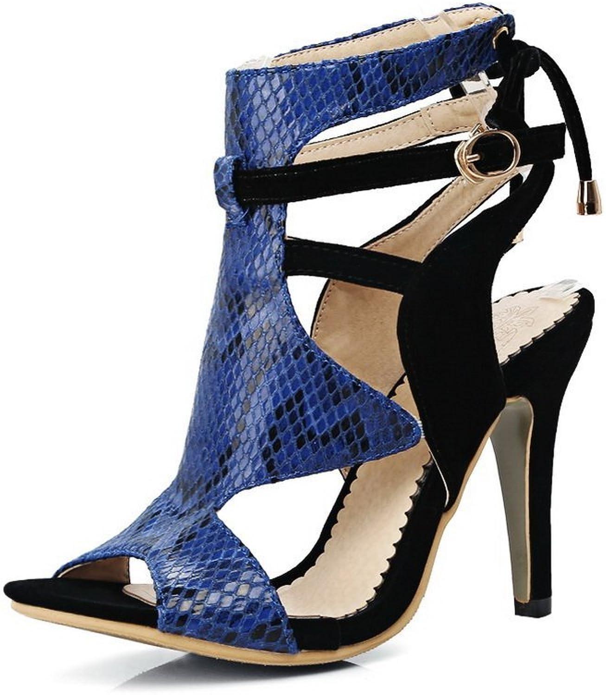 BalaMasa Womens Assorted colors Fashion Outdoor Urethane Sandals ASL05546
