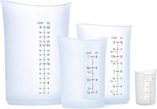 iSi Flex-it Set of 4 Flexible Measuring Cup Set