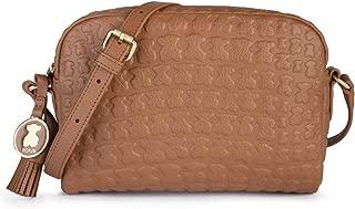 Women/'s Bowling Bag Topo Tous Bandolera Brunock Chain Beige