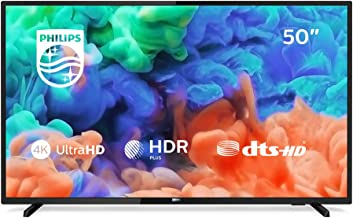 Philips 50PUS6203/12 126 cm (50 Zoll) LED-Fernseher (4K Ultra HD, Smart TV, Triple Tuner)