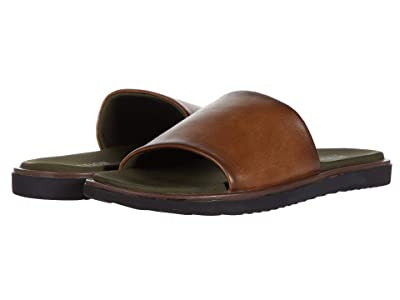 Kenneth Cole Reaction Arie Slide (Brown/Olive) Men