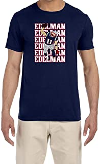 Tobin Clothing Navy New England Edelman Spike Text Pic T-Shirt