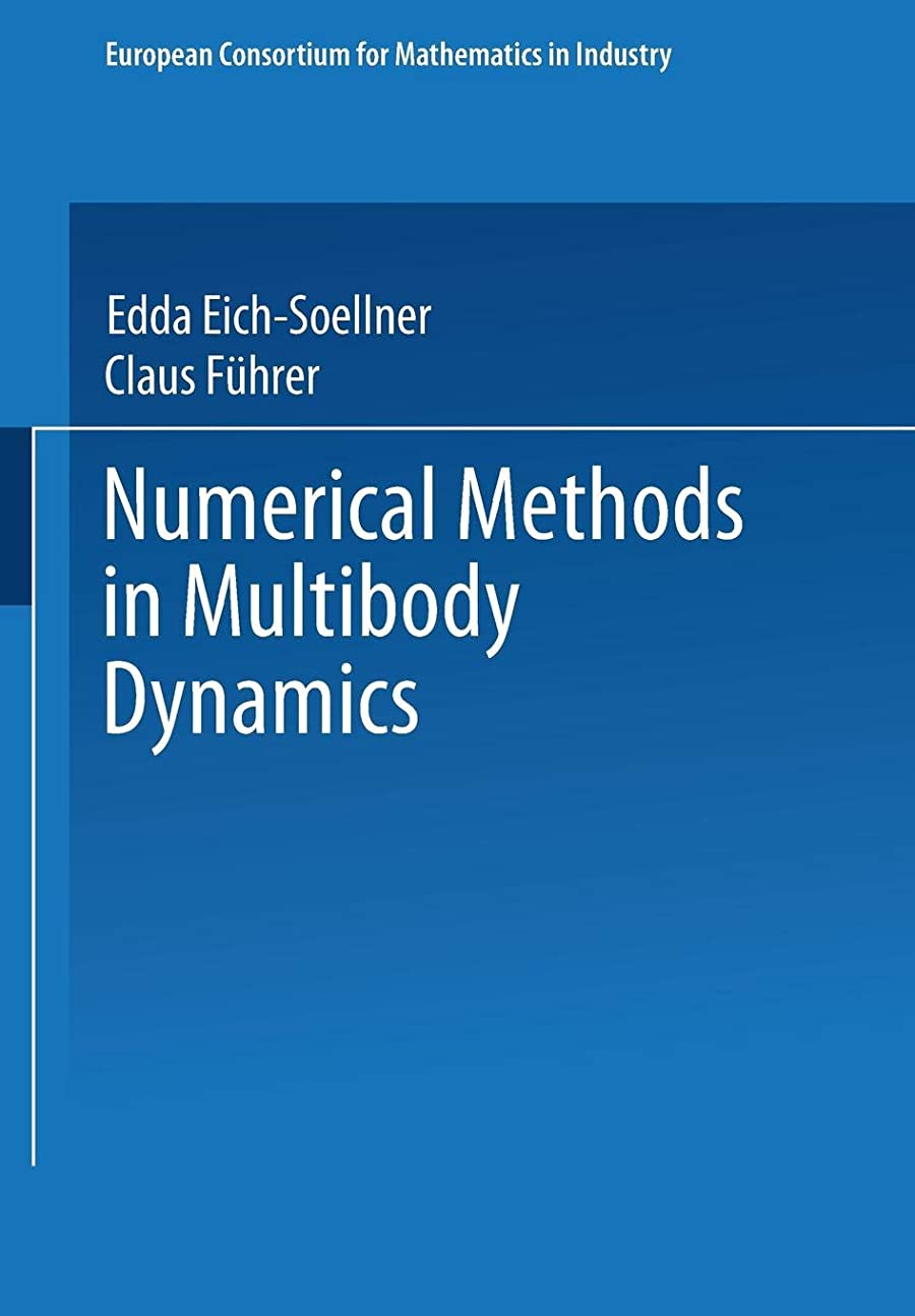 コインランドリーフィードバック罹患率Numerical Methods in Multibody Dynamics (European Consortium for Mathematics in Industry)