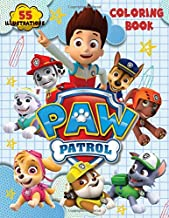 PAW PATROL Coloring Book: 55 Illustrations.