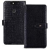 YLYT Shockproof - Black Flip Leather TPU Silicone Luxury