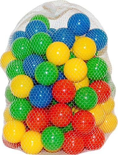 100 Bälle farbig für Bällebad