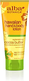 Alba Botanica Replenishing Cocoa Butter Hawaiian Hand & Body Lotion, 7 oz.