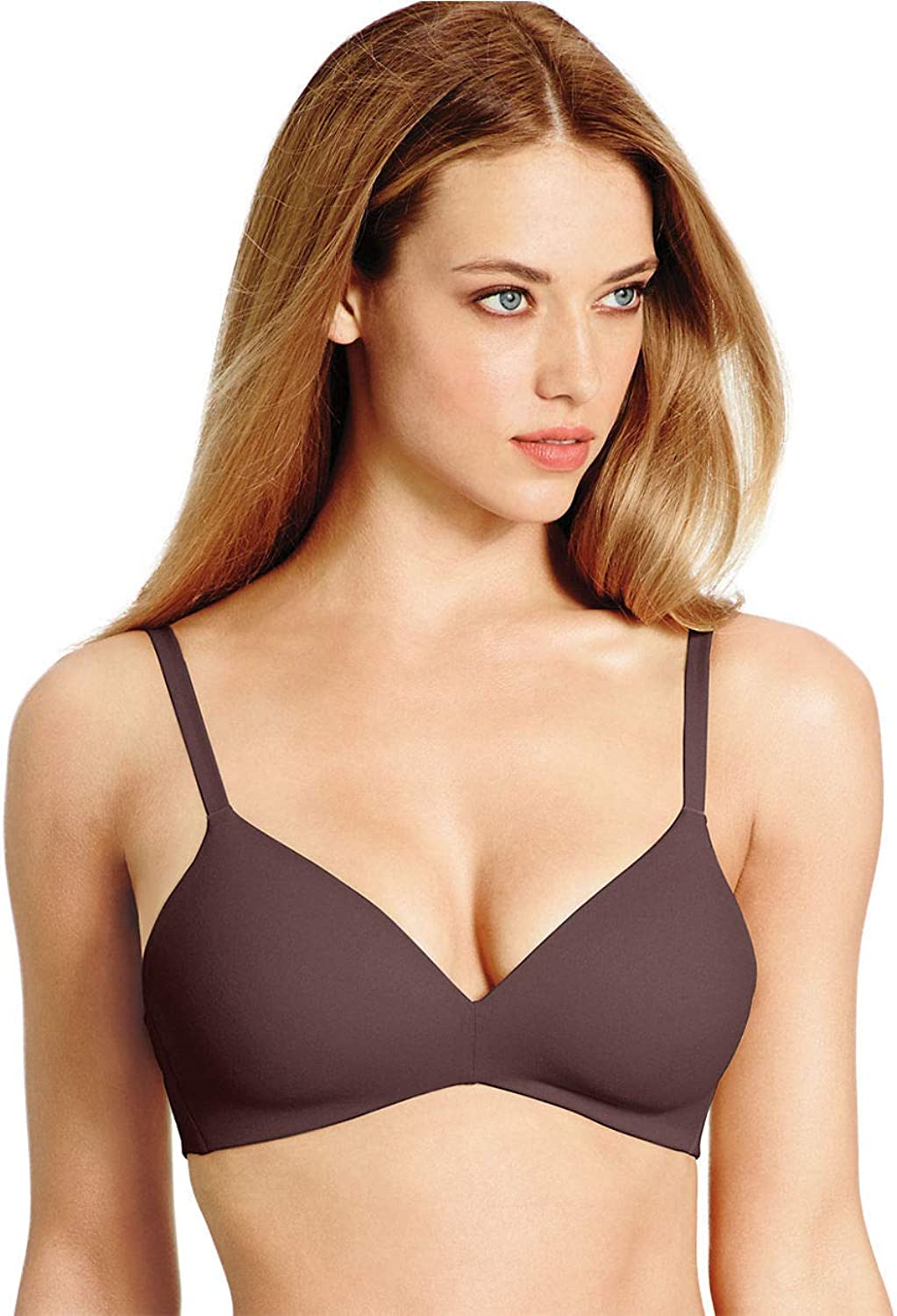 Wacoal How Perfect Soft Cup Contour TShirt Bra 30DDD Coffee Bean