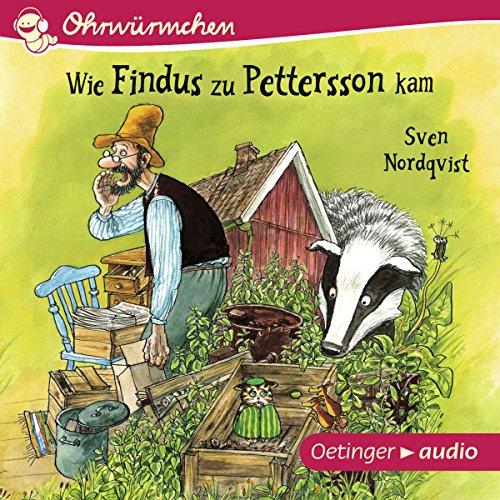 Wie Findus zu Pettersson kam audiobook cover art
