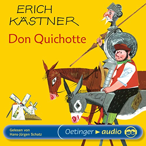 Don Quichotte audiobook cover art