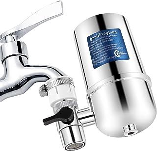 Filtro Agua GrifoGrifo Filtros para Grifo de Ahorro de Acero Inoxidable 304, Sistema de filtración de Agua Saludable y de Calidad Accesorios de Cocina filtrado de grifos