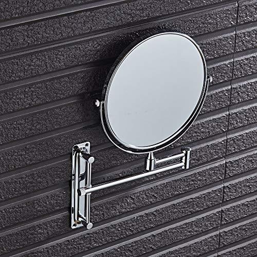 Tuzi Qiuge Spiegel Wand- Hotel Vanity Spiegel Folding Doppelseitiger Badezimmer-Spiegel-Schönheits-Spiegel