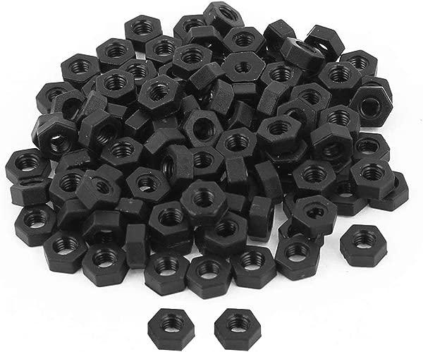 Jashem M3 碳钢级 8 六角六角螺母黑色碳钢包 150