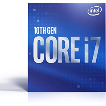 Intel Core i7-10700 Desktop Processor 8 Cores up to 4.8 GHz LGA 1200 (Intel 400 Series Chipset) 65W, BX8070110700