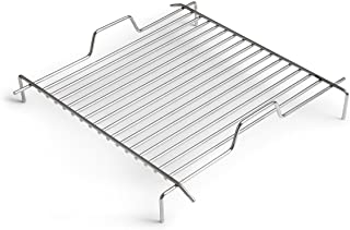 höfats - CUBE Grillrost - verwandelt CUBE Feuerkorb in einen Grill - höhenverstellbar zur Regulierung der Grilltemperatur - Edelstahl - eckig - Zubehör für CUBE Feuerkorb
