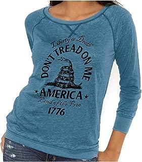 Don't Tread on Me Snake Flag Political USA Vintage Fashion T
