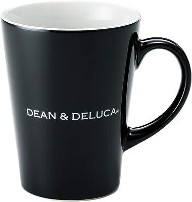 DEAN & DELUCA ラテマグS ブラック 240ml マグカップ レンジ可 食洗器可 食器 コーヒー 新生活 縦10.5cm×横(飲み口直径)8.0cm×底6.0cm